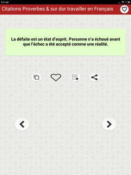 Citations: Travail Acharné screenshot 20