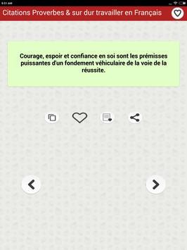 Citations: Travail Acharné screenshot 21