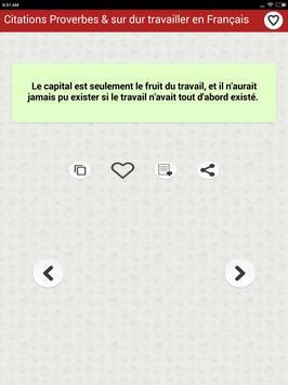 Citations: Travail Acharné screenshot 23