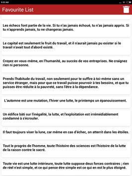 Citations: Travail Acharné screenshot 9