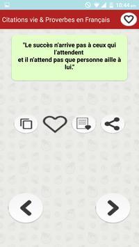 Vie des Citations et Proverbes screenshot 6