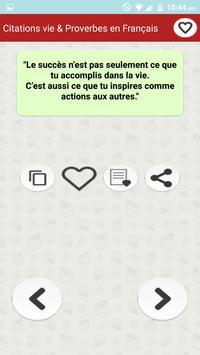 Vie des Citations et Proverbes screenshot 7