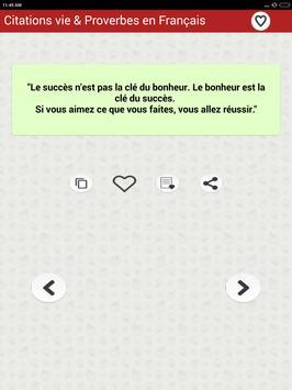 Vie des Citations et Proverbes screenshot 13