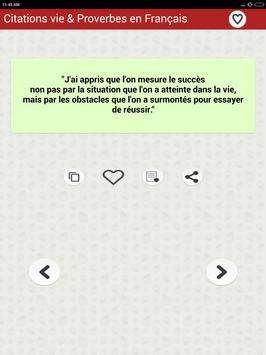 Vie des Citations et Proverbes screenshot 12