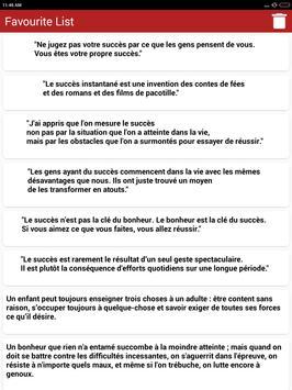 Vie des Citations et Proverbes screenshot 17