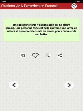 Vie des Citations et Proverbes screenshot 15