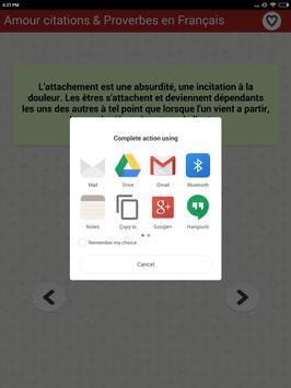 Amour citations & Proverbes screenshot 12