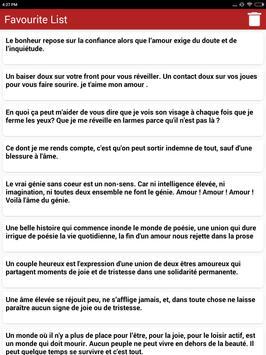 Amour citations & Proverbes screenshot 18
