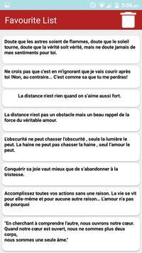 Amour citations & Proverbes screenshot 2