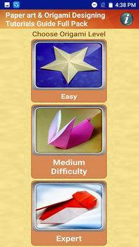 Paper art & Origami Designing Guide Full Pack poster