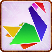 Paper art Origami Making steps: Medium Difficulty icon