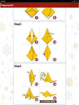Paper art Origami Making steps: Medium Difficulty screenshot 15