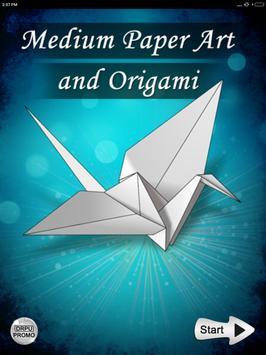 Paper art Origami Making steps: Medium Difficulty screenshot 8