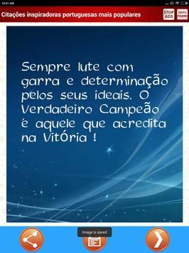 Mais populares portugueses citações inspiradoras screenshot 8