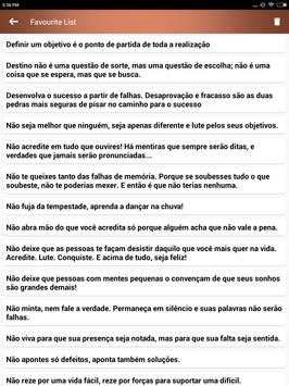 Citações e Frases inspiradoras em português screenshot 15