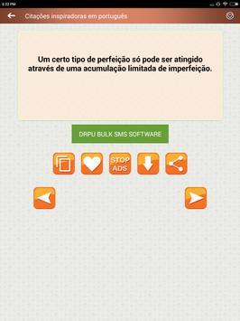 Citações e Frases inspiradoras em português screenshot 16