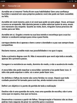 Citações e Frases inspiradoras em português screenshot 21