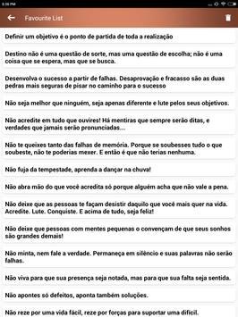 Citações e Frases inspiradoras em português screenshot 22
