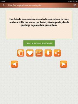 Citações e Frases inspiradoras em português screenshot 23