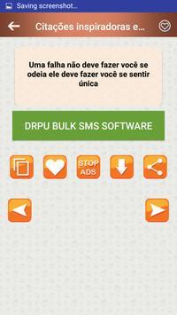 Citações e Frases inspiradoras em português screenshot 2