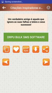 Citações e Frases inspiradoras em português screenshot 5