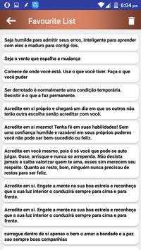 Citações e Frases inspiradoras em português screenshot 6