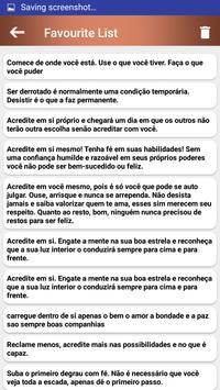 Citações e Frases inspiradoras em português screenshot 7