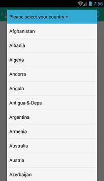 Send free sms apk screenshot