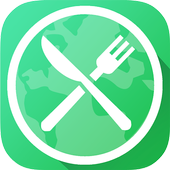 Sensafood, menu without border icon