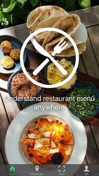 Sensafood, menu without border apk screenshot
