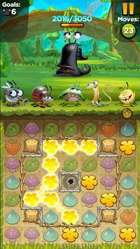 Best Fiends - Бесплатная игра-головоломка скриншот приложения