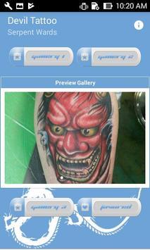 Poster Devil Tattoo