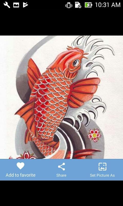 170a2440b Koi Tattoo Designs for Android - APK Download