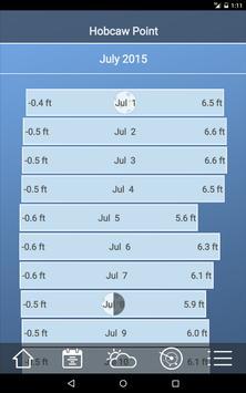 Tide Charts - Free ảnh chụp màn hình 5