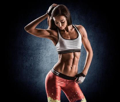 Sexy Sport Brunette Woman apk screenshot
