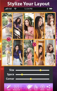 Auto Collage Photo Grid Maker - Pics Frame Editor poster