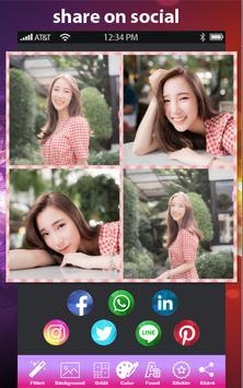 Auto Collage Photo Grid Maker - Pics Frame Editor screenshot 5