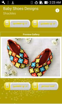 Baby Shoes Designs poster