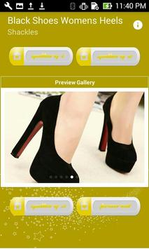 Black Shoes Womens Heels poster