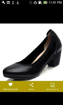 Black Shoes Womens Heels screenshot 5