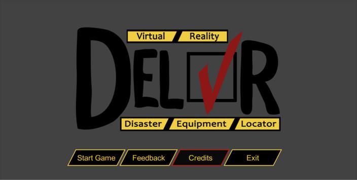 DEL:VR poster
