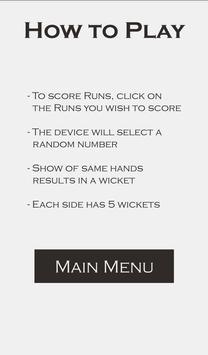 Hand Cricket apk screenshot