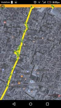 ElMoez street audio GPS guide apk screenshot