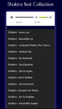 Shakira songs complete Mp3 Top: HITS poster