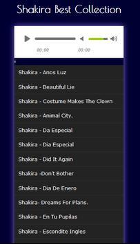 Shakira songs complete Mp3 Top: HITS screenshot 2