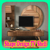 Shape Design TV Shelf icon