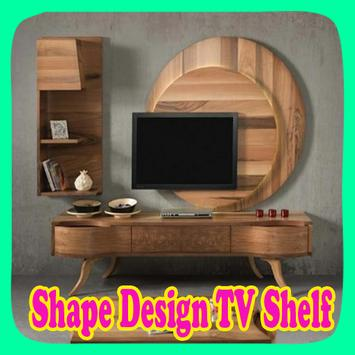 Shape Design TV Shelf poster