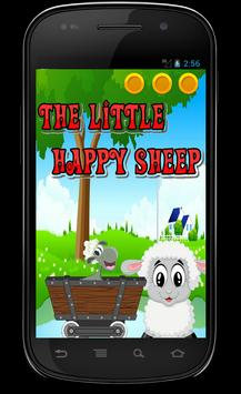 The little happy sheep poster