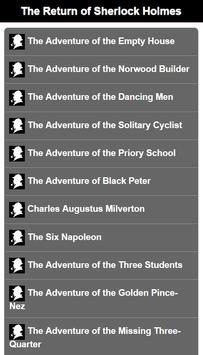 Sherlock Holmes Complete Novel apk screenshot