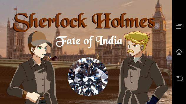 Sherlock Holmes Fate Of India poster